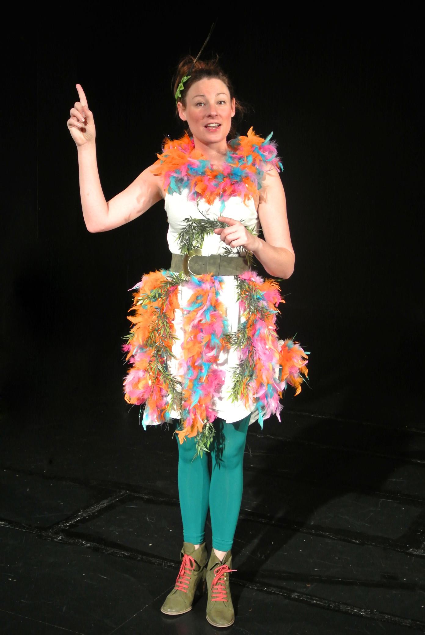 """Julia Kiefer in """"Die Zauberflöte"""""""